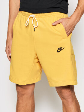 Nike Nike Sportovní kraťasy Revival DA0688 Žlutá Standard Fit