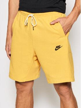 Nike Nike Szorty sportowe Revival DA0688 Żółty Standard Fit