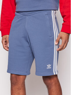 adidas adidas Спортни шорти 3-Stripes GN4474 Син Regular Fit
