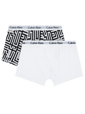 Calvin Klein Underwear Calvin Klein Underwear Komplet 2 par bokserek 2Pk B70B700323 Biały