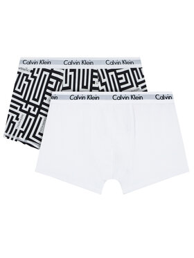 Calvin Klein Underwear Calvin Klein Underwear Set di 2 boxer 2Pk B70B700323 Bianco
