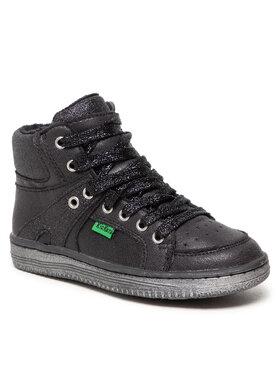 Kickers Kickers Šnurovacia obuv Lowell 739352-30 Čierna