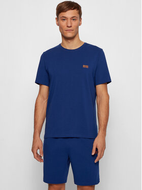 Boss Boss T-shirt Mix&Match 50381904 Bleu Regular Fit