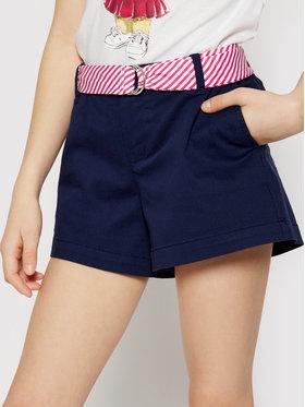 Polo Ralph Lauren Polo Ralph Lauren Pantalon scurți din material Solid Chino 313834890001 Bleumarin Regular Fit