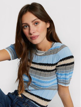 Morgan Morgan Sweater 211-MOOD Kék Slim Fit