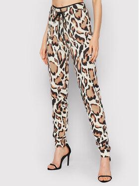 Pinko Pinko Spodnie materiałowe Laccare 1Q10AM Y7PH Beżowy Regular Fit