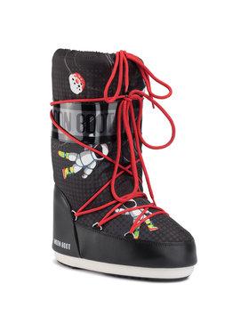 Moon Boot Moon Boot Апрески Jr Boy Space Man 340019001 D Черен