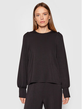 Vero Moda Vero Moda Sweatshirt Silky 10257425 Schwarz Regular Fit