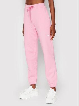 MSGM MSGM Teplákové kalhoty 2000MDP500 200000 Růžová Regular Fit