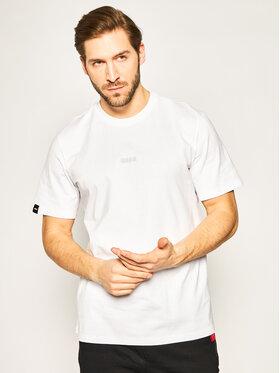 MSGM MSGM Marškinėliai 2840MM239 207098 Balta Regular Fit
