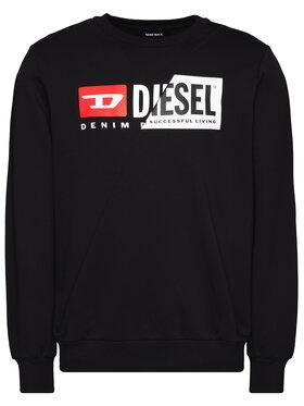 Diesel Diesel Džemperis S-Girk-Cuty A00349 0IAJH Juoda Regular Fit
