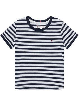 Tommy Hilfiger Tommy Hilfiger T-shirt Essential Stripe KG0KG05766 M Blu scuro Regular Fit