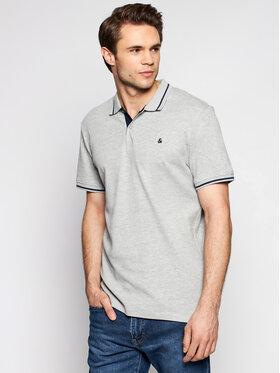 Jack&Jones Jack&Jones Polo marškinėliai Jersey 12180891 Pilka Regular Fit