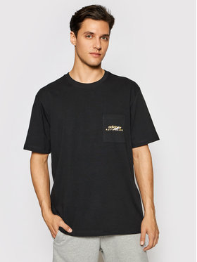 adidas adidas T-Shirt Adv Pkt Logo Tee GN2363 Czarny Regular Fit