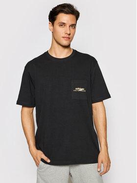 adidas adidas T-shirt Adv Pkt Logo Tee GN2363 Noir Regular Fit