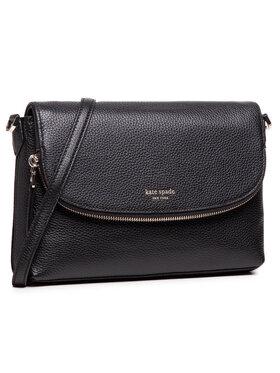 Kate Spade Kate Spade Handtasche Lg Convertible Flap PXRUA248 Schwarz