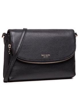 Kate Spade Kate Spade Τσάντα Lg Convertible Flap PXRUA248 Μαύρο