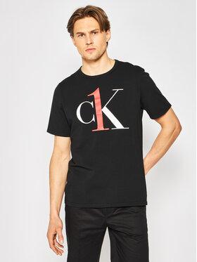 Calvin Klein Underwear Calvin Klein Underwear Tričko 000NM1903E Čierna Regular Fit