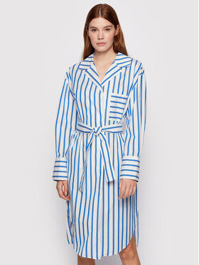Boss Boss Sukienka koszulowa C_Disso 50447726 Biały Comfort Fit