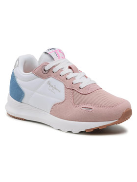 Pepe Jeans Pepe Jeans Sneakersy York Basic Girl PGS30493 Różowy