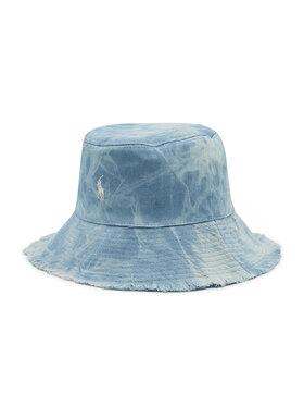 Polo Ralph Lauren Polo Ralph Lauren Текстилна шапка Denim Hat 455842558001 Син
