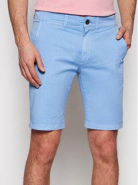 Pepe Jeans Pepe Jeans Medžiaginiai šortai Mc Queen PM800227C75 Mėlyna Regular Fit
