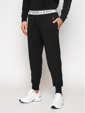 Polo Ralph Lauren Polo Ralph Lauren Teplákové kalhoty 714833978001 Černá Regular Fit