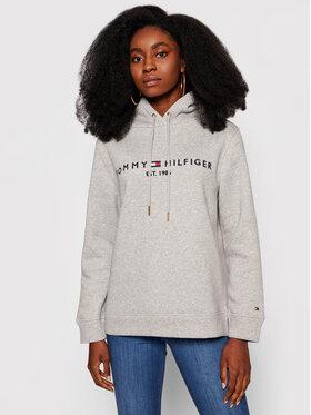Tommy Hilfiger Tommy Hilfiger Sweatshirt Heritage WW0WW31998 Grau Regular Fit