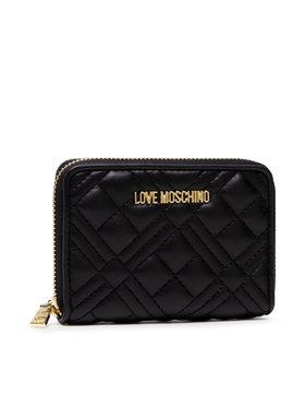LOVE MOSCHINO LOVE MOSCHINO Veľká dámska peňaženka JC5602PP1DLA0000 Čierna
