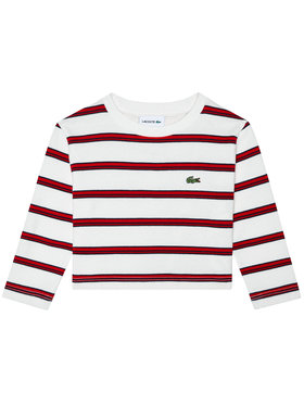 Lacoste Lacoste Блуза TJ1358 Бял Regular Fit