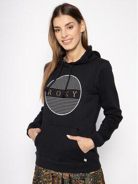Roxy Roxy Bluza ERJFT04180 Czarny Regular Fit