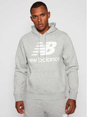 New Balance New Balance Bluză MT03578 Gri Relaxed Fit