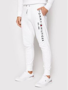 Tommy Hilfiger Tommy Hilfiger Sportinės kelnės Basic Branded MW0MW08388 Balta Regular Fit