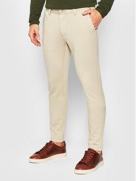 Only & Sons Only & Sons Chino kalhoty Mark 22010209 Béžová Slim Fit