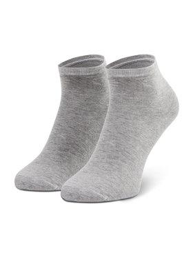 Tommy Hilfiger Tommy Hilfiger Súprava 2 párov vysokých dámskych ponožiek 373001001 Žltá