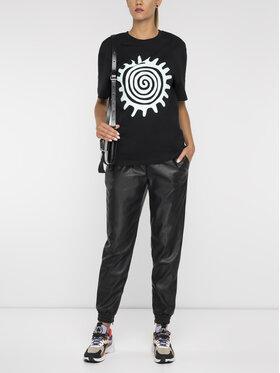 MCQ Alexander McQueen MCQ Alexander McQueen T-Shirt 494256 RNJ47 1000 Černá Regular Fit