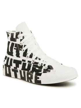 Converse Converse Sneakers aus Stoff Ctas Hi 168555C Weiß
