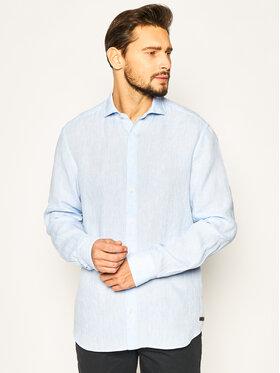 Baldessarini Baldessarini Marškiniai Henry 41232/40015/6015 Mėlyna Regular Fit
