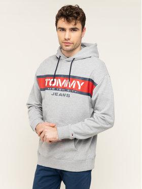 Tommy Jeans Tommy Jeans Μπλούζα Panel Logo DM0DM07615 Γκρι Regular Fit