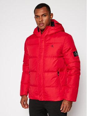 Calvin Klein Jeans Calvin Klein Jeans Pūkinė striukė J30J315674 Raudona Regular Fit