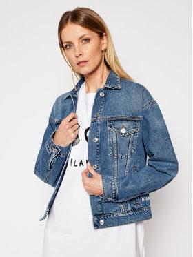 MSGM MSGM Kurtka jeansowa 3041MDH41LX 217283 Niebieski Regular Fit