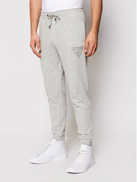 Guess Guess Teplákové nohavice U1GA10 K68I1 Sivá Regular Fit
