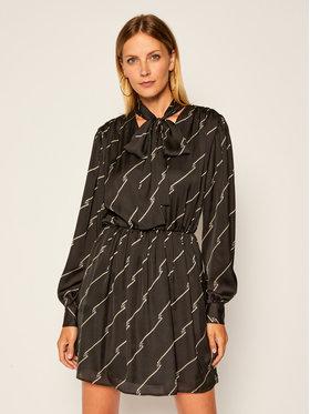 MSGM MSGM Každodenní šaty 2941MDA39 207694 Černá Regular Fit