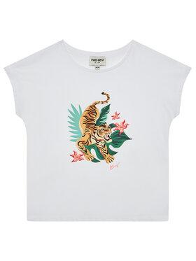 Kenzo Kids Kenzo Kids T-Shirt K15099 S Λευκό Regular Fit