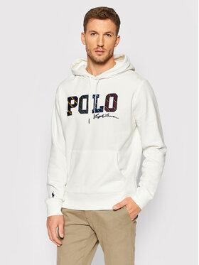 Polo Ralph Lauren Polo Ralph Lauren Sweatshirt Boston 710853266003 Blanc Regular Fit