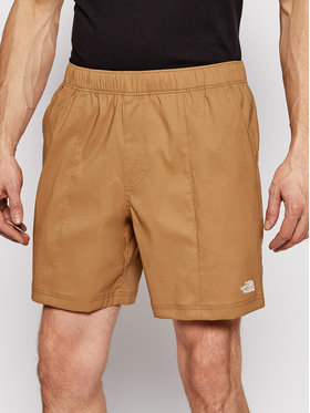 The North Face The North Face Pantaloni scurți sport M Class V Pull On NF0A5A5X1731 Maro Regular Fit