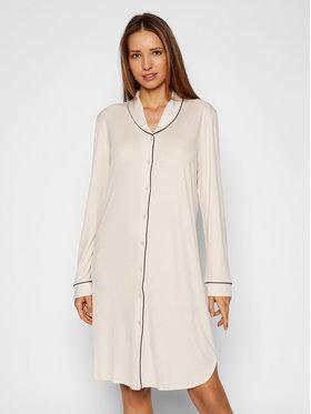 Hanro Hanro Naktiniai marškiniai Natural Comfort 7964 Smėlio