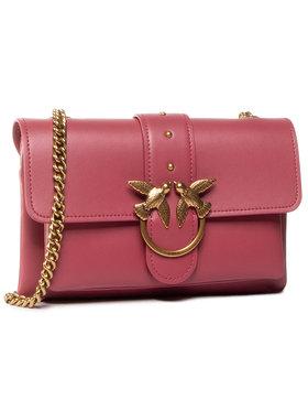 Pinko Pinko Дамска чанта Love Mini Soft Simply Cl. AI 20-21 PLTT 1P21SK Y6JC Розов