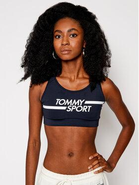Tommy Sport Tommy Sport Podprsenkový top Mid Logo S10S100451 Tmavomodrá