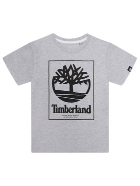 Timberland Timberland T-shirt T45815 Gris Regular Fit